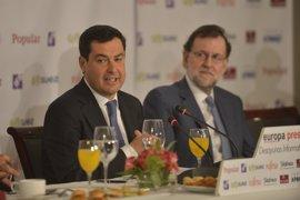 """Moreno, """"decepcionado"""" con Cs por no ejercer """"presión"""" como """"llave de gobierno"""" en Andalucía"""