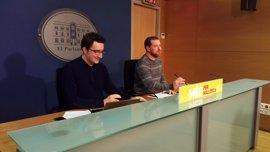 """MÉS presenta una PNL """"por la libertad de expresión"""" a raíz de la condena a Valtonyc"""