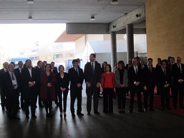 Inauguración del MWC 2017