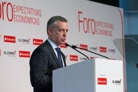 """Urkullu asegura que la reforma fiscal se hará """"desde el consenso"""""""