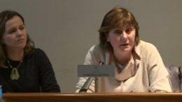 Pilar Varela, en su comparecencia