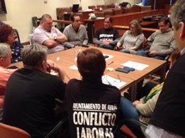 IU reclama al Ayuntamiento diálogo para solucionar el conflicto laboral en el consistorio