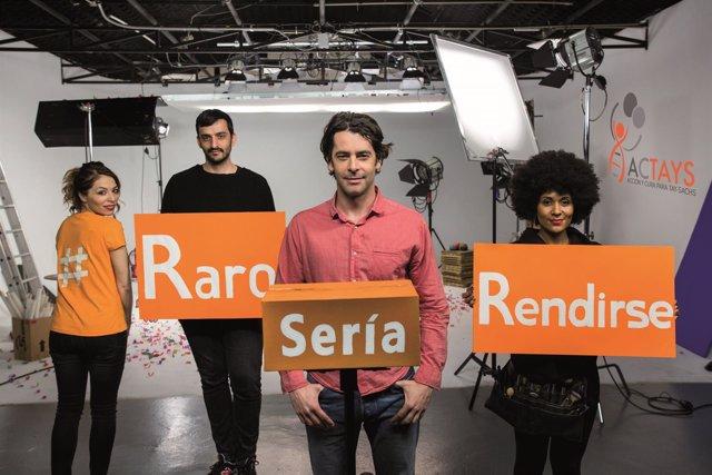 ACTAYS elabora un corto protagonizado por Eduardo Noriega visibilidad Tay-Sachs