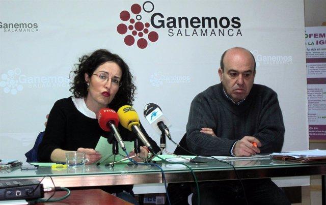 Marta Santos Y José Ramón Barrueco.