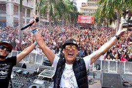 Más de 180.000 personas asisten al Carnaval de Día de Santa Cruz