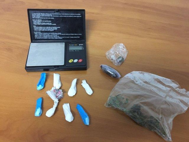 Detenido en Riotorto (Lugo) por tráfico de drogas