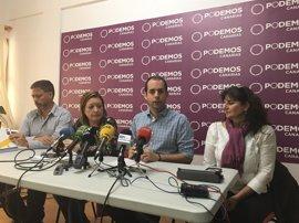 Podemos da a Ylenia Pulido la Vicepresidencia Segunda en el Cabildo de Gran Canaria y mantiene a Montero como portavoz