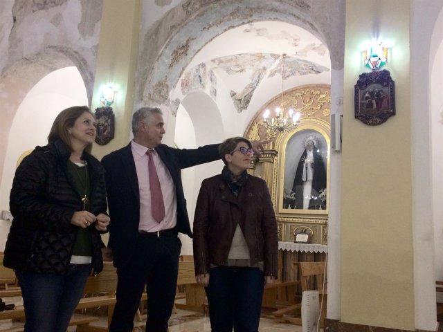 Arroyo en Albudeite en la iglesia de Nuestra Señora de los Remedios