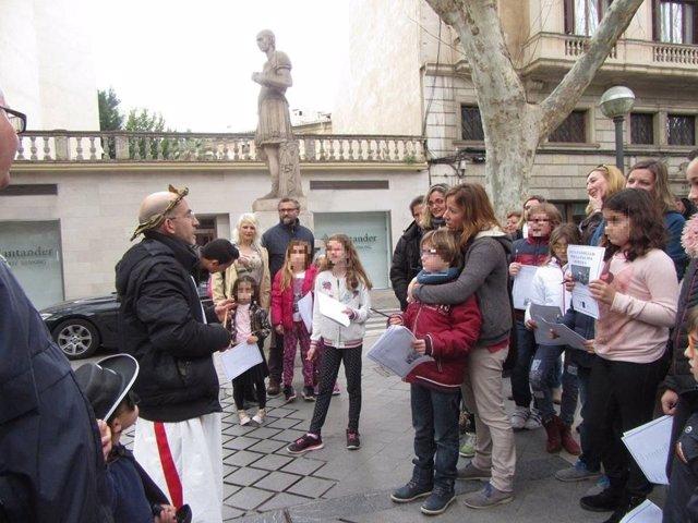 Visita  de Palma romana para familias