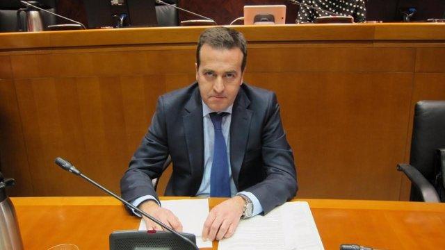 El director General de Presupuestos, Manuel Galochino.