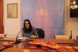 Zamora: La concejal de Cultura