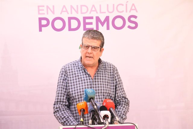 Nacho Molina, hoy en rueda de prensa