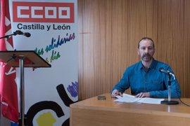 Ernesto Angulo, nuevo responsable de la Federación de Servicios a la Ciudadanía de Comisiones Obreras de CyL