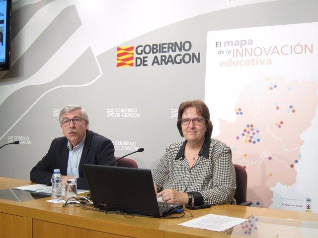Jesús Garcés e Isabel Ayala, han presentado la nueva plataforma web