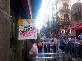Casco Viejo de Bilbao celebrará el próximo viernes y sábado la 25 edición del mercado de gangas