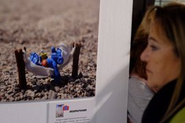 Los Pitufos llegan a las salas de exposiciones del Archivo Municipal en plena Semana Blanca