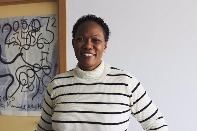 La investigadora Atinuke Adebanji.