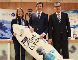Ecomar y la Federación Española de Surf renuevan el convenio de colaboración