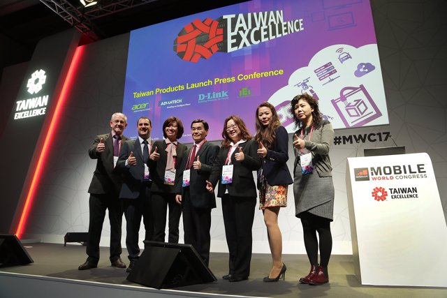 Taiwan Excellence in Mobile World Congress