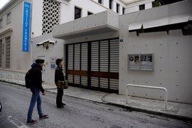 Un ataque causa daños en el Instituto Francés de Atenas