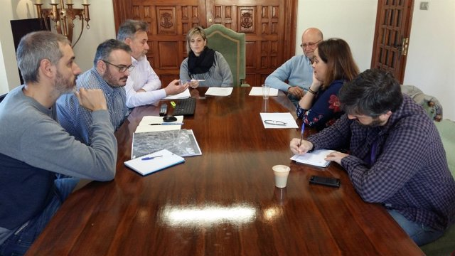 Reunión de la comisión de seguimiento del PGOU