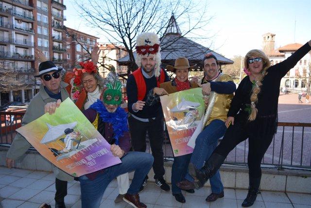 Presentación de los Carnavales de Sestao