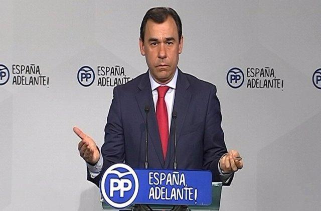 """Maíllo: """"Lo que se necesita en Cataluña es estabilidad"""""""