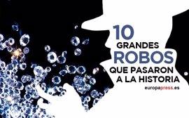 Del tren de Glasgow al Centro de Diamantes de Amberes: 10 grandes robos que pasaron a la historia