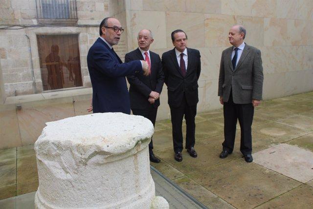 Zamora: Amilivia con el presidente del Consultivo de Galicia y Ramos y Sobrini