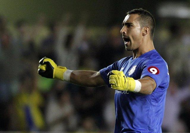 Sergio Asenjo, portero del Villarreal