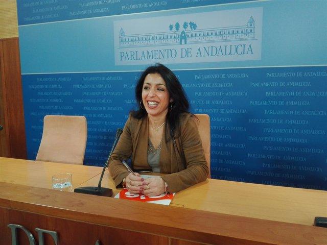 Marta Bosquet en rueda de prensa
