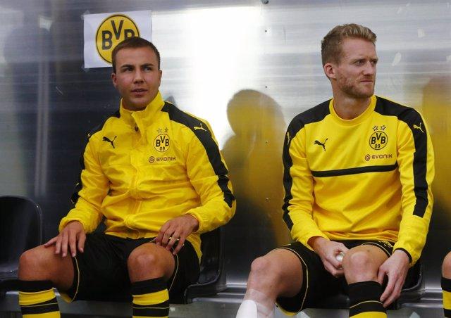 Mario Gotze y Andre Schurrle (Borussia Dortmund)