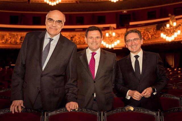 Salvador Alemany, Roger Guasch, Jaume Giró