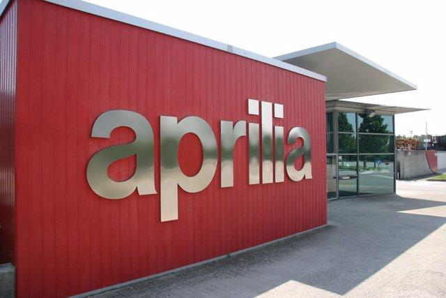 Logotipo de Aprilia
