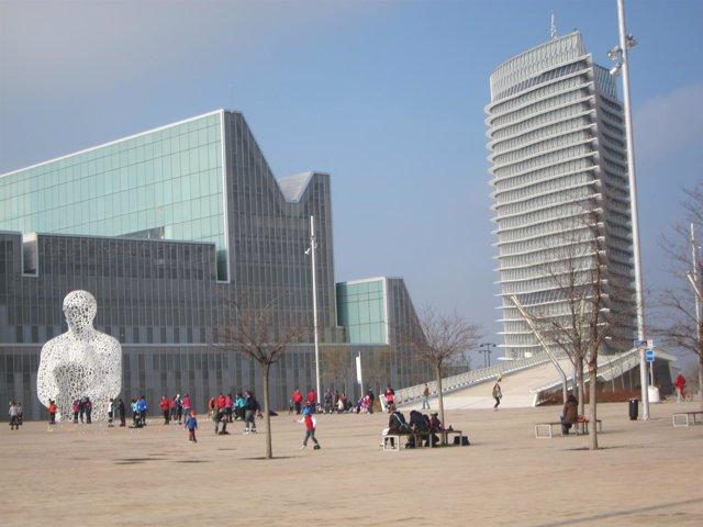 Recinto de la Expo,una de las zonas nuevas de la ciudad