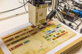 Un equipo investigador de la Universidad de Oxford estudia la 'Tabla de colores' de Haenke en el Real Jardín Botánico