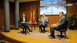 Barba y Embid conversan sobre la evolución de las Cortes de Aragón