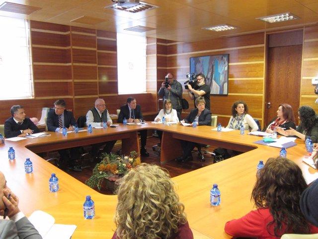VALLADOLID. Reunión entre Sanidad y la Federación de Enfermedades Raras