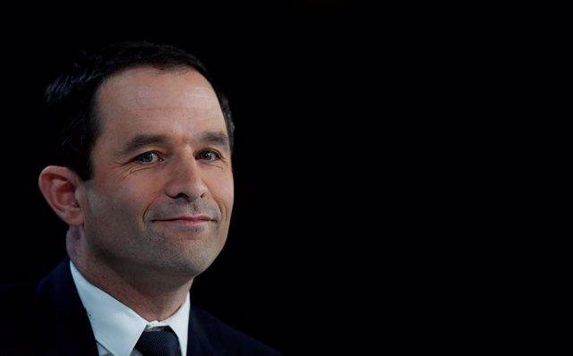 Benoît Hamon, candidato socialista a la Presidencia de Francia