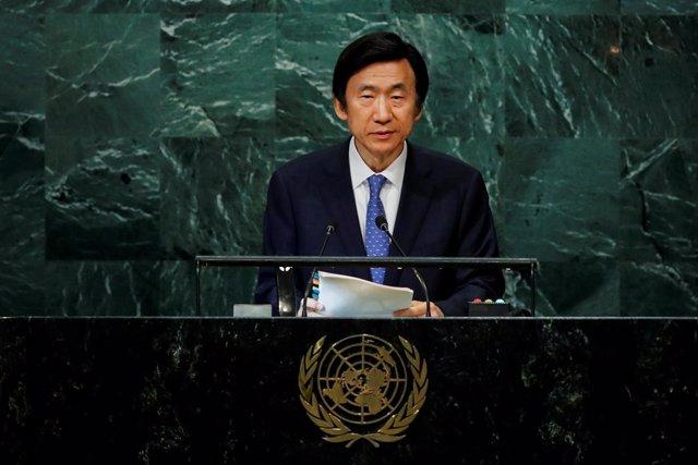 Ministro de Asuntos Exteriores surcoreano Yun Byung-se