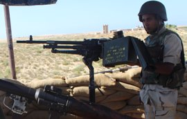 El Ejército egipcio mata a seis milicianos islamistas en el norte de la península del Sinaí