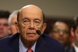 El Senado de EEUU confirma a Wilbur Ross como secretario de Comercio