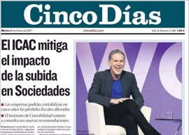 Las portadas de los periódicos económicos de hoy, martes 28 de febrero