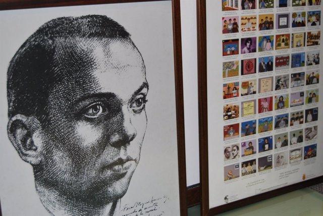 Miguel Hernández en uno de los documentos de Gaspar Peral