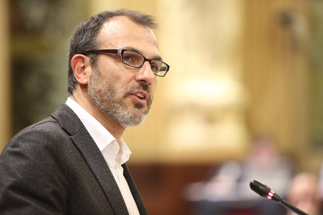 Biel Barceló en el pleno de Presupuestos para 2017