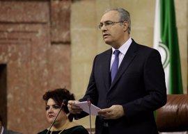 """El presidente del Parlamento reivindica el 28F frente a la """"marcha atrás"""" que buscan los soberanistas"""