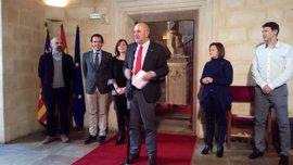 """Armengol recalca que el rescate del túnel de Sóller es """"una decisión política"""" del Consell"""