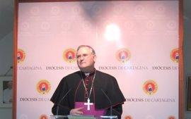 """Obispo ve con preocupación situación política en Murcia: """"En un mar revuelto se pueden prestar cantidad de historias"""""""