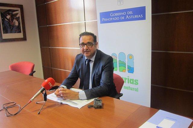 El director general de Comercio y Turismo del Principado, Julio González Zapico.