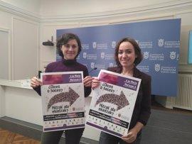 Teatro, conferencias y la lectura de un manifiesto, en el programa del Día de la Mujer de Pamplona